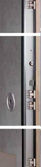 schema tecnico porta blindata cilinder AHE70