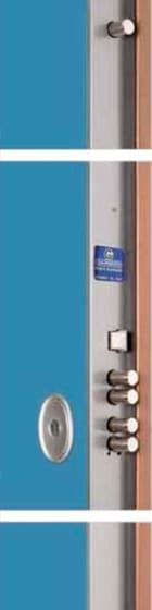 schema tecnico porta blindata habitat70EX