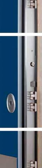 schema tecnico porta blindata klimagold
